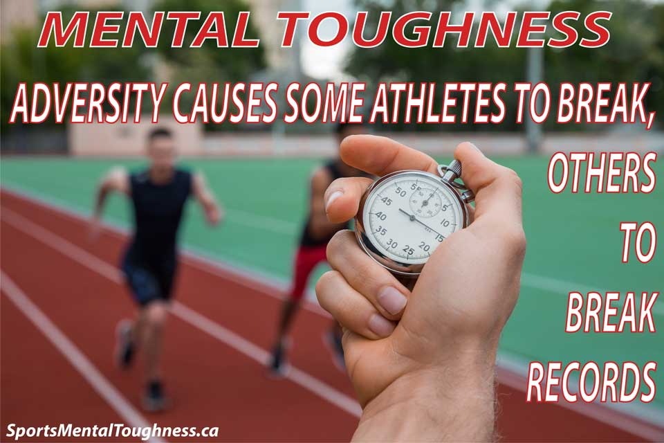 Adversity causes some athletes to break, other to break records