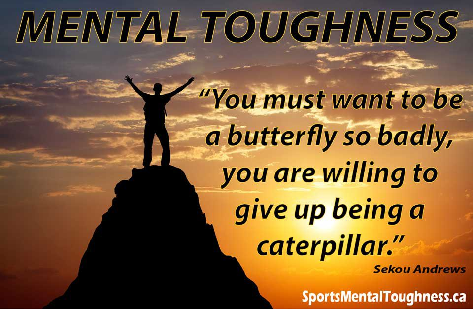 you must want to be a butterfly so badly that you are willing to give up being a caterpillar
